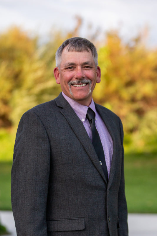 Vice-President, Ron Holmes