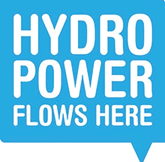 Hydro Power Flows Here