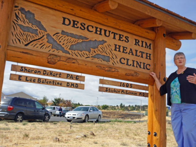 Sharon DeHart at Deschutes Rim Clinic