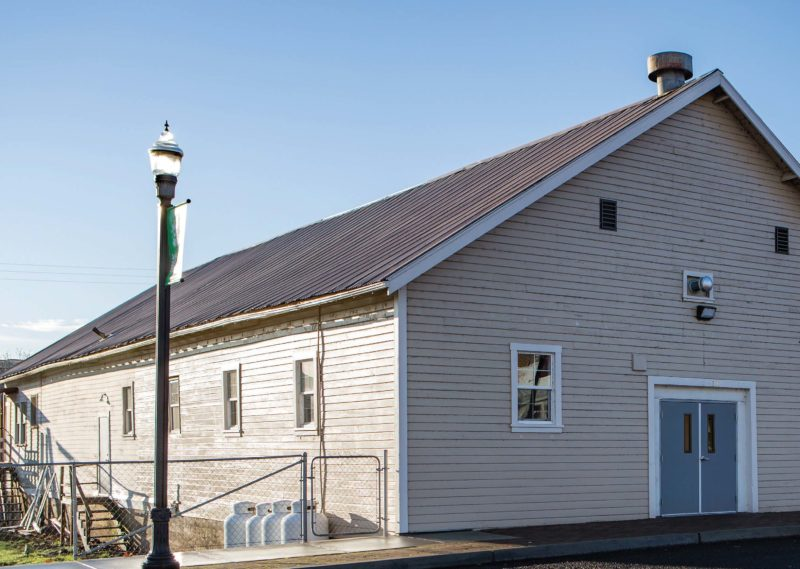 Local residents are breathing new life into Maupin Legion Hall.