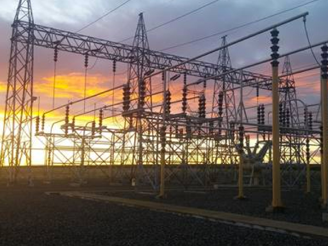 This Bonneville Power Administration's substation in Redmond is one of 260 owned and operated by the Northwest's power marketing agency. These substations are the interconnection points between the agency's many utility customers and its high-voltage transmission system.